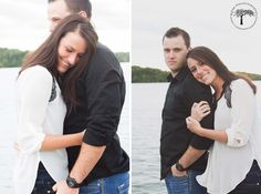 Shawnee Mission Park Engagement Shoot | Fall Engagement Photos | Photography by RPM Photography