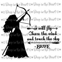 Disney Princess Merida, Brave Princess, Brave Disney, Parking Lot Painting, Inspire Me, Cricut, Sky, Digital, Heart