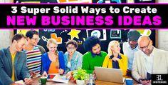 Create New Business Ideas