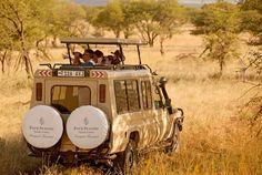At the new Four Seasons Safari Lodge Serengeti, right in Tanzania's Serengeti National Park, families with kids eight and older have an incredible opportunity to see elephants, rhinos, lions, zebras and antelopes in their natural habitat. Until then, click through for a photo safari!