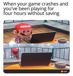 Funny Gaming Memes, Crazy Funny Memes, Really Funny Memes, Stupid Memes, Funny Relatable Memes, Funny Games, Haha Funny, Hilarious, Funny Stuff