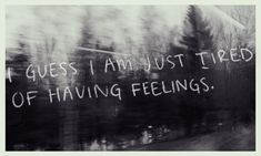 feelings... | isfp | sometimes...
