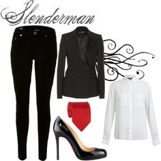 Creepypasta: Slenderman Inspired Outfit