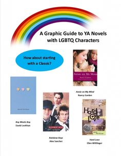 YALSA's LGBT YA Literature Infographic--this is really well done! I think any librarian could benefit from having this as a go-to list.