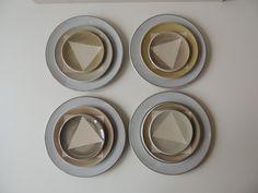 Geschirr- & Porzellan-Sets - Geschirrset 15-128 - ein Designerstück von s_wellmeier bei DaWanda