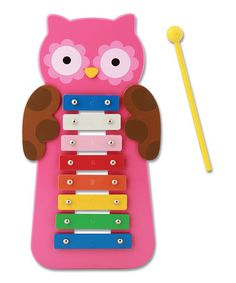 Take a look at this Owl Xylophone by Stephen Joseph on #zulily today!