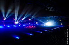 Die SchücoArena leuchtet   DSC Arminia Bielefeld