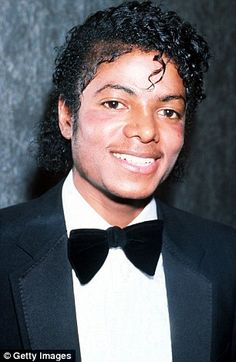 1983: Publicising his best-selling album Thriller, Michael has  got rid of his teenage afro and is wearing skin-lightening make-up. His nose seems to have been thinned again and cheek implants have been inserted. He liked the effect so much he had a third nose job the following year, increased the size of the cheek implants and had his eyelids 'lifted', which reduces bagginess and removes excess skin