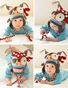 adorable frickin' pirate owl hat, pattern is $6 but I could make it without a pattern