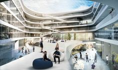 Gallery - University Building for Technical Faculty Winning Proposal / 3XN - 2