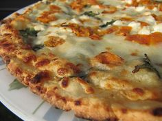 Bella Monica Gluten Free Faltbread pizza: spinach & tomato by Gluten Free Food Reviews, via Flickr