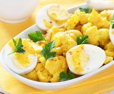 Curry di cavolfiore e uova sode xxx