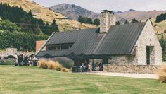 Established in Amisfield is a Central Otago, New Zealand based producer of Pinot Noir and aromatic white wines. Central Otago, New Zealand, Wines, Cabin, Architecture, House Styles, Garden, Wedding Flowers, Home