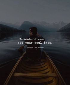 BEST LIFE QUOTES Adventure can set your soul free.. —via https://ift.tt/2eY7hg4