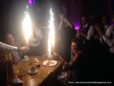 Yes! This kind of birthday celebration rocks my world.