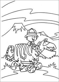 Desenhos para colorir para crianças. Desenhos para imprimir e colorir Stanley 6