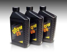 Glow Fuel product line by Rene Verkaart, via Behance