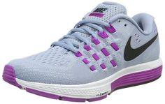 best cheap a1c4d b1d08 Nike Air Zoom Vomero 11 Women s Running Shoe Sz 7.5 Grey   Violet Chaussure  Running,