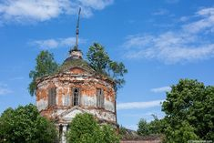 God-forsaken: Abandoned churches and cathedrals of Russia - 22 / Three Saints Church, 1807. The village of Goloperovo, Yaroslavl Oblast