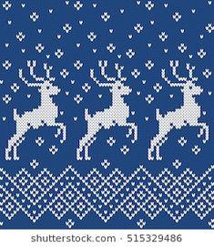 New ideas for crochet patterns christmas stocking cross stitch Knitting Charts, Loom Knitting, Knitting Stitches, Knitting Sweaters, Christmas Knitting Patterns, Baby Knitting Patterns, Crochet Patterns, Knitted Christmas Stockings, Christmas Sweaters