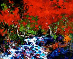 Bruno Côté - Chuchottement Autumn Painting, Fall Paintings, Bruno, 21st Century, New Art, Quebec, Painters, Image, Beautiful
