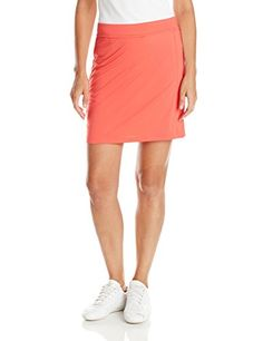 Puma Golf Womens Solid Knit Skirt Small Cayenne >>> Click on the image for additional details.