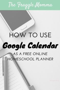 How to use Google Calendar as an amazing homeschool planner that sync's to EVERYTHING! This is a brilliant idea. I can finally stay organized haha! School Plan, Google Calendar, Planning And Organizing, Homeschool Curriculum, Catholic Homeschooling, Home Schooling, Organizer, Planer, Teaching