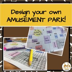 I am super excited to offer this fun, engaging, collaborative project that covers over 15 standards with absolutely no prep for teachers! Students will want to work through this problem solving activity to build their own theme park! To start, students will get some background knowledge by reading a passage about a famous theme park we all know and love-Disneyland!