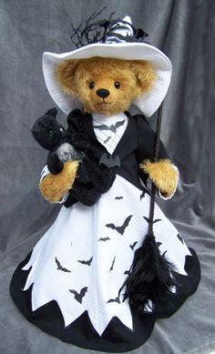2014 witch bear by Martha's Bears www.marthasbears.com