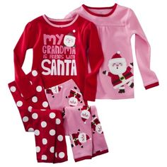 Carter's Toddler Girls' Two-Piece Polar Bear Shirt and Pants ...
