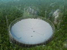 """World's largest radio telescope switches on to scan the heavens and """"look for E.T.""""   Inhabitat - Green Design, Innovation, Architecture, Green Building"""