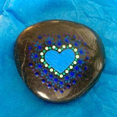 Piedra pintada por PauLi