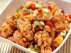 Resep Ayam Cabai Garam Meat Recipes, Asian Recipes, Chicken Recipes, Cooking Recipes, Healthy Recipes, Ethnic Recipes, Prawn Noodle Recipes, Chicken Teriyaki Recipe, Indonesian Cuisine