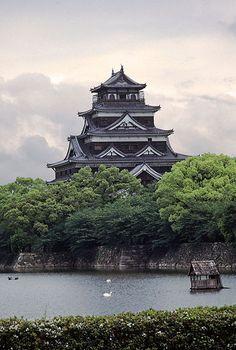 Japon Castillo Hiroshima