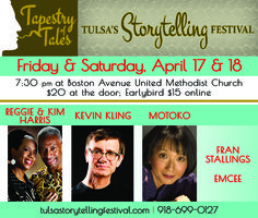 The Oklahoma Center for Community and Justice : Events : Tapestry of Tales, Storytelling Festival