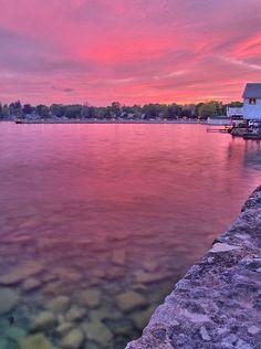 The Skaneateles Pier, Finger Lakes, Upstate New York