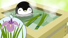 Penguin on a spa day is adorable, penguins are always adorable tho