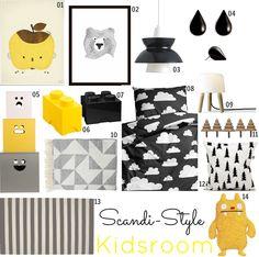 The Design Chaser: Kidsrooms   Scandi-Style Inspiration
