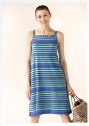 Kurzes Kleid aus Öko-Baumwolle/Elasthan
