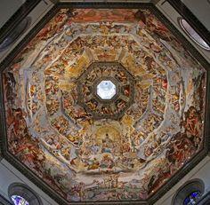 Duomo, Last Judgement, Giorgio Vasari