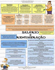 ENTENDEU DIREITO OU QUER QUE DESENHE ???: SALÁRIO X REMUNERAÇÃO