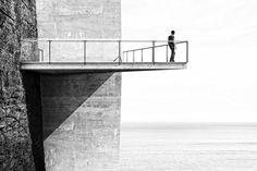 Alex Hogrefe's conceptual retreat cuts into a remote Icelandic clifftop