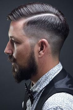 sleek back fade