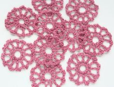 Hey, I found this really awesome Etsy listing at https://www.etsy.com/listing/82197653/sale-20-mini-doilies-crochet