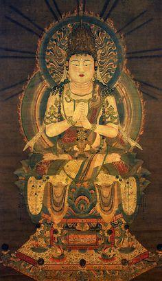 Buddhist Art 大日如来-金剛界