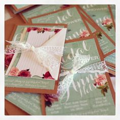 Bridal Shower I LOVE this idea!!! to include a recipe card! @Jessica Russo Isn't this the cutest idea! everyone brings back or sends their signature recipe!