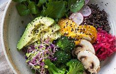 Christmas salad - the yoga bowl