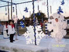 Snowflake Christmas Float