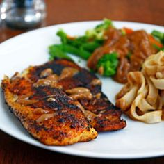Spicy Blackened Tilapia~ a fish recipe that's as delicious as it is easy.