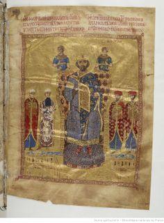 Jean Chrysostome, Homélies. Date d'édition : 1078-1081 Contributeur : Nicéphore Botaniate.Coislin 79